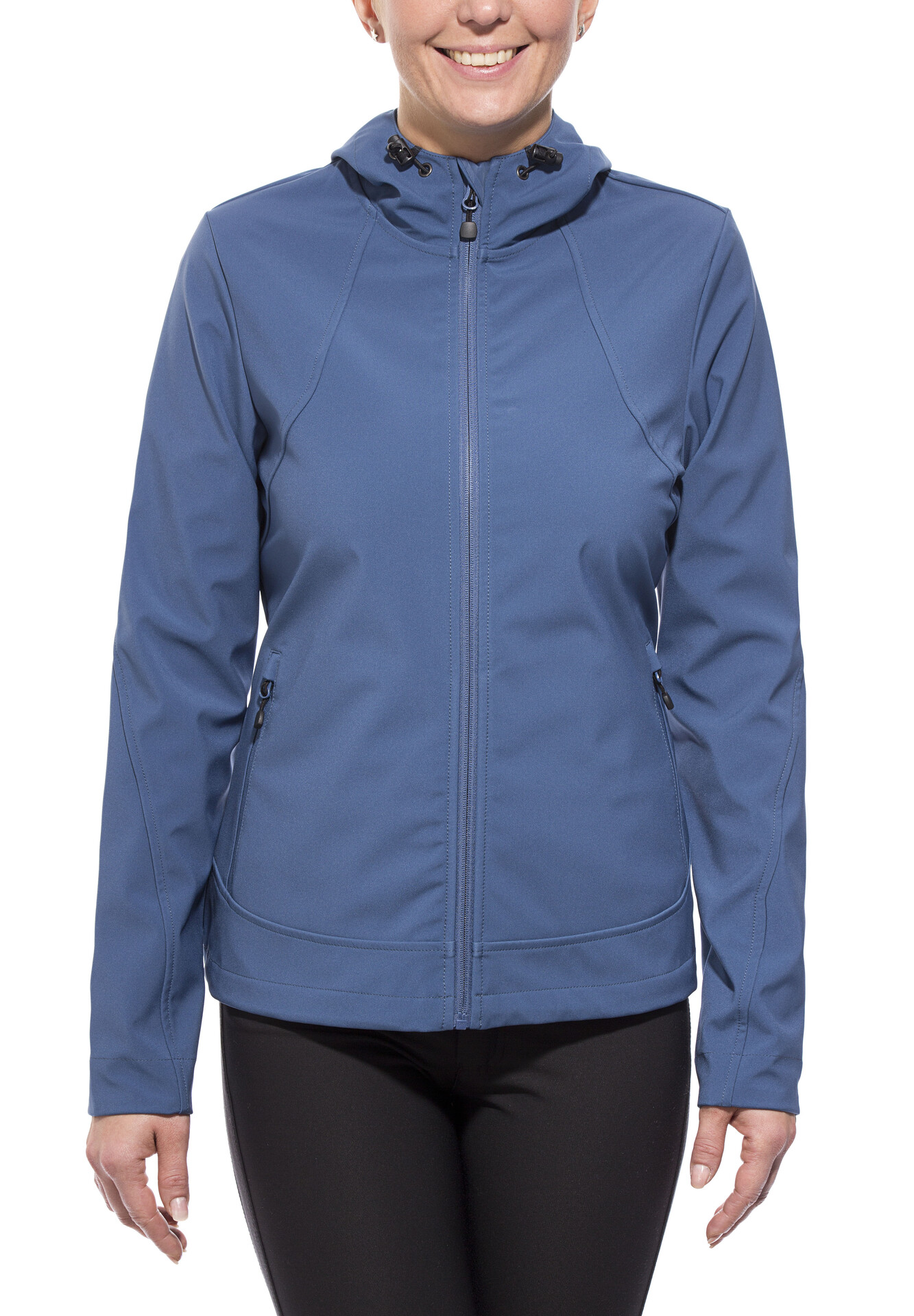 axant Alps Softshell Jacke Damen ensign blue